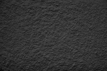 Black Dusty Scratchy Textured wall - Old vintage grunge background.