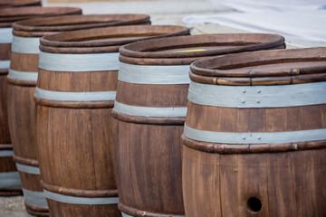 wine fermentation tanks