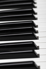 Piano keys. Cool illustration for creative design