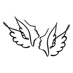 профиль ангела