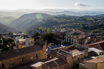 Romantic light Sicily.  Road trip around the largest island in the Mediterranean Sea. Some landscape captures and great impressions of this lovely part of Italy.