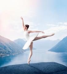 Grace ballerina keep the rack in studio