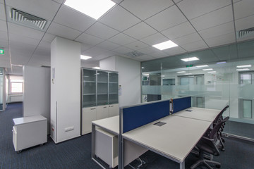 Modern open space office interior