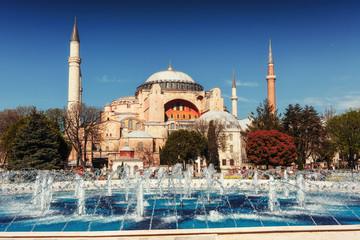 Sultan Ahmed Mosque Illuminated. Beauty world. Istanbul Turkey