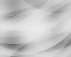 layers of black gray and white transparent curved and circle shapes in wavy design pattern