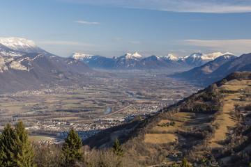 Massif de la Chartreuse - Grésivaudan - Isère.