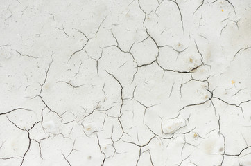 Dry cracked ground background. Light color nature abstract background