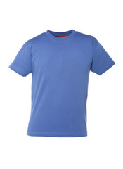 T-Shirt Blau auf Bueste