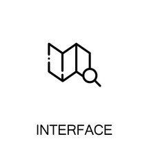 Interface flat icon