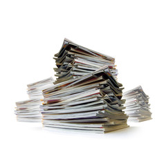 Piles of Magazines