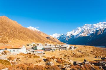 Langtang Himalayas Mountain Kyanjin Gompa Village