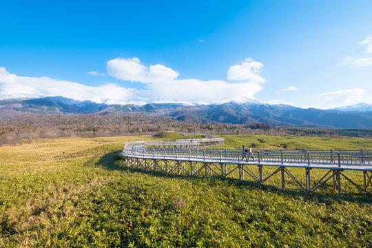 Shiretoko Five Lakes,Shiretoko Goko,in Shiretoko National Park,Hokkaido,Japan