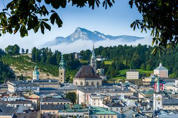 Saint Peter's Archabbey in Salzburg, Austria