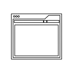 Website internet layout icon vector illustration graphic design