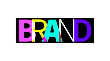 Vector icon brand
