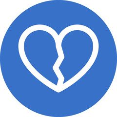 broken-heart  icon