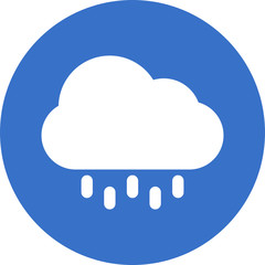 cloud-and-drops icon