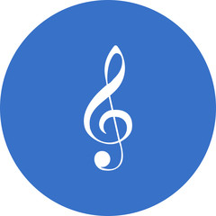 g-clef-musical-note icon