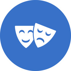 happy-and-sad-theater-masks icon