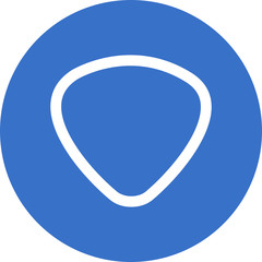 triangular utensil icon