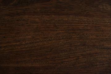 Closeup of dark wood background.