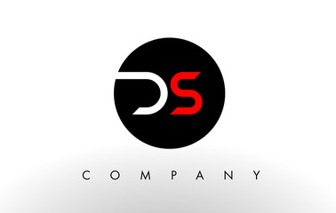 DS Logo.  Letter Design Vector.