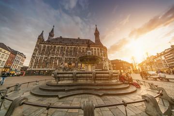 Aachen Aken Aix-La-Chapelle