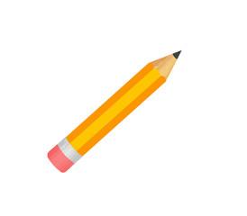 オレンジ色の鉛筆