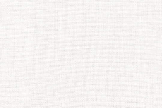 White linen canvas. The background image, texture