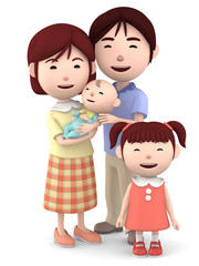 4人家族01