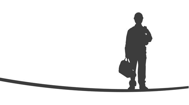 Arbeiter | Silhouette