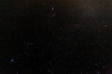 Sternenhimmel über Landschaft