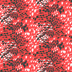 Animal pattern inspired by tropical fish skin