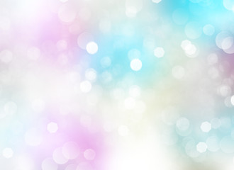 Spring pastel light fairy background.