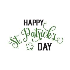 Happy St. Patrick Day Inscription