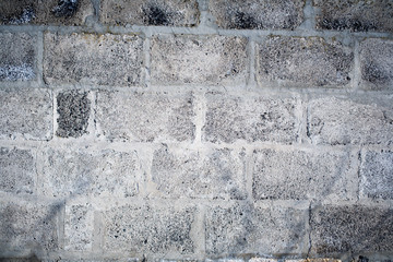 A Cinder Block Wall Background