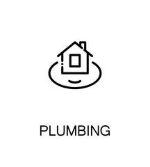 Plumbing flat icon