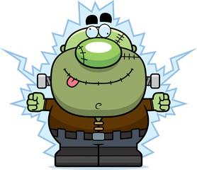 Cartoon Frankenstein Shock