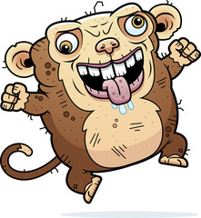 Crazy Ugly Monkey