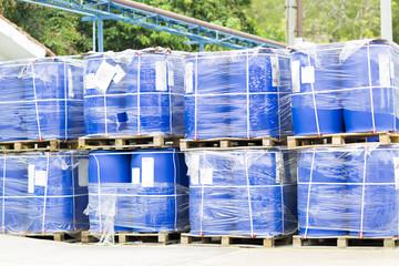 Big Blue Barrels
