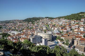 Panoramic view over Sibenik city, Croatia