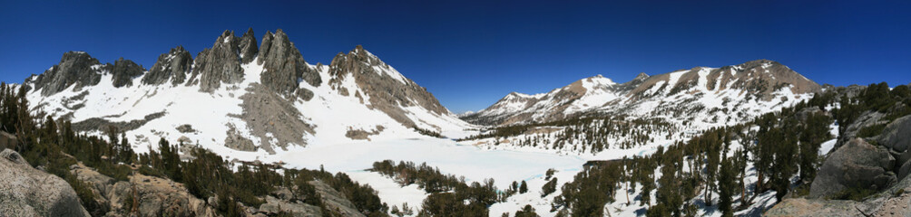 Sierra Mountain Panorama