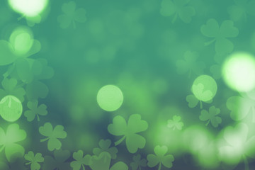 st. patrick's day abstract background