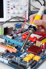 Fixing electronics