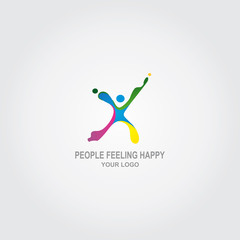People Feeling Happy Logo