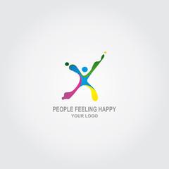 People Feeling Happy Logo
