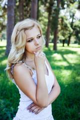 sad beautiful girl