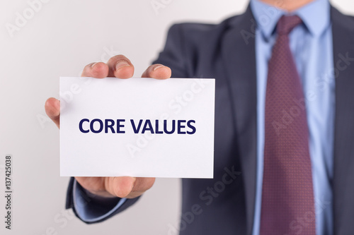 Core values essay