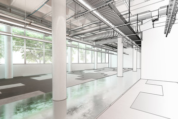 Empty Office Floor (draft)
