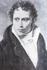 Portrait of the philosopher Arthur Schopenhauer